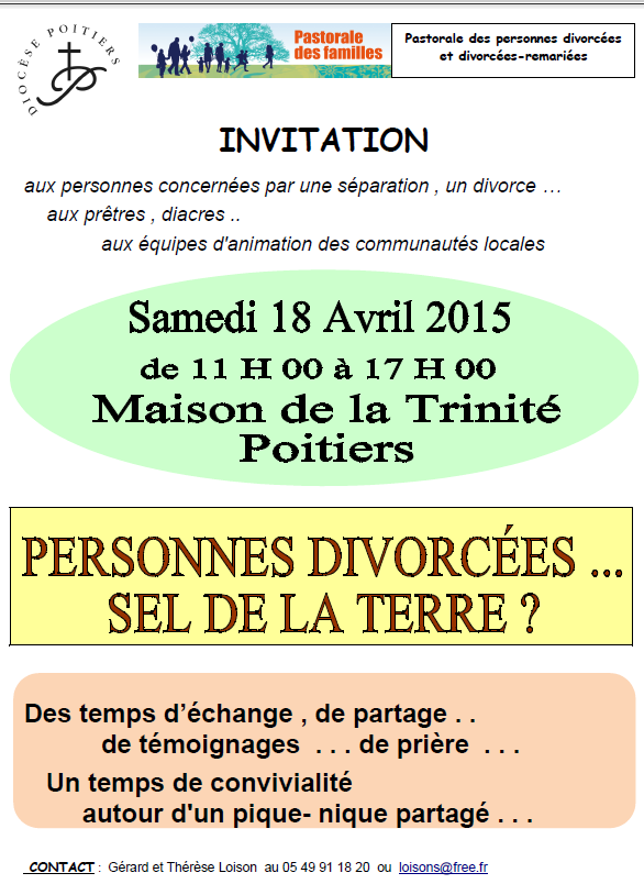 Rencontre divorces